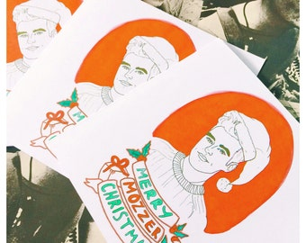 Merry Mozzer Christmas Card