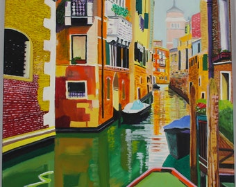 Venice, Original Oil Painting