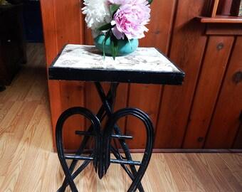 Vintage Adirondack Twig Table