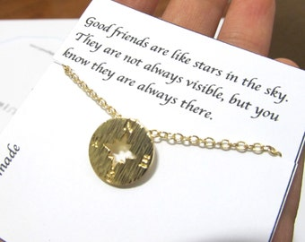 Nautica Compass necklace, compass necklace, A6, Compass Pendant Necklace