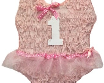 1st Birthday Ballerina Pinata Pull Strings or Traditional Customize your Own Number