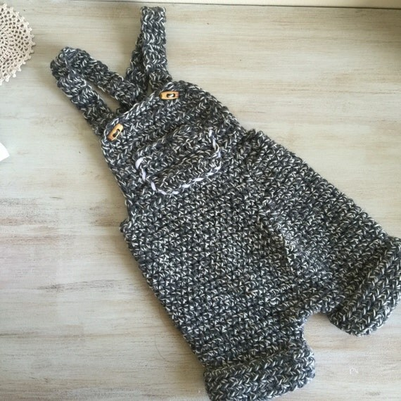 Crochet Pattern For Owl Baby Bunting : Baby overall pattern baby crochet pattern baby shortalls