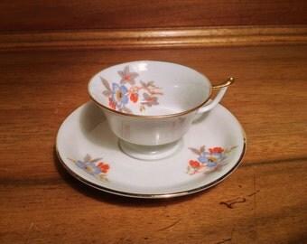 Thomas Bavaria bone china teacup and saucer