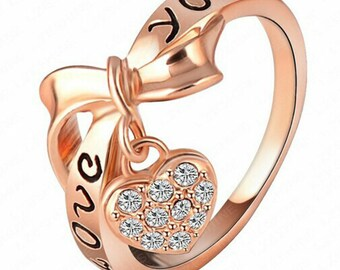 Heart Love You Ring
