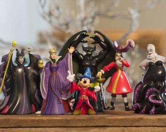Disney Villain Ornament Set