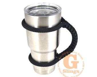 Tumbler Cup Handle for Yeti, RTIC, SIC, or Ozark - Black