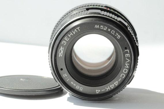 MC Helios 44K-4 2/58mm Russian SLR lens bayonet Pentax PK N856865