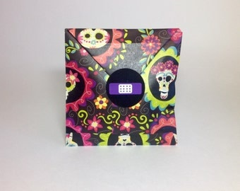 Dia De Los Muertos WEDDING EMERGENCY KITS -  Wedding Welcome Bags, Emergency Kit, Comfort Kit, Bachelorette Party, Hang Over Kit