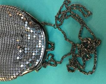 Handbag Silver Mesh