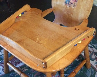 Restored Toddler Table and Chair