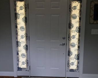 Items Similar To Sample Door Panels Custom Rod Pocket