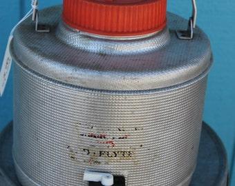 SOLD!!! 50's Cold Flyte Metal Thermos