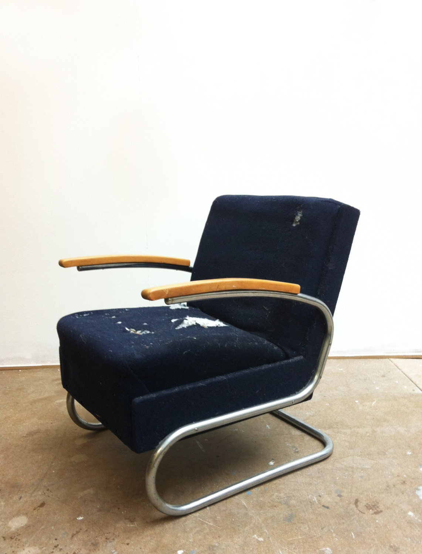 2 fauteuils thonet s411 1932 haute juice. Black Bedroom Furniture Sets. Home Design Ideas