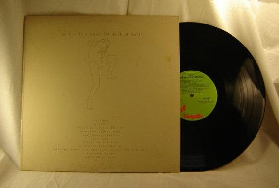 Jethro Tull M U The Best Of Jethro Tull Vintage Vinyl