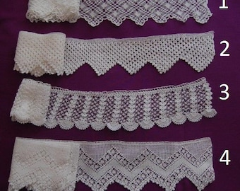 White Laces (for a coverlet set)