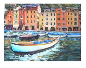 Portofino Italy Giclee