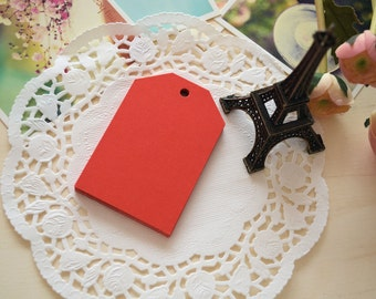 Handmade DIY Blank Large RED Gift Tags/Gift Wrapping Tags/15PCS