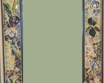 Mosaic Iris Mirror