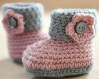 Baby Adventured Crochet Booties