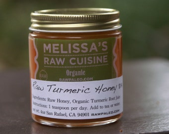 Raw Turmeric Honey