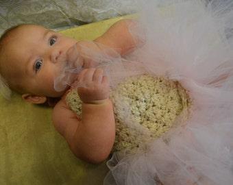 Crochet Baby Princess Dress
