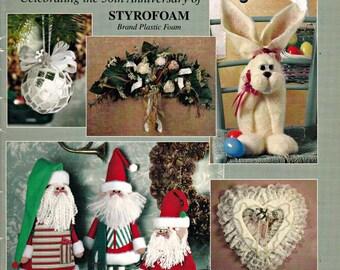 50 Great Projects - Celebrating 50th Anniversary of Styrofoam Brand Plastic Foam, Styrofoam Crafts, Craft Foam, Foam Projects