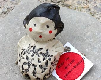 PROMO! My Angel, Statue, be celestial Art angel sculpture lucky Ceramic Sculpture, Keramik, Wall Sculpture