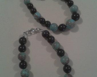 True mineral stone bracelet