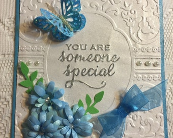 Someone Special, Handmade Greeting Card