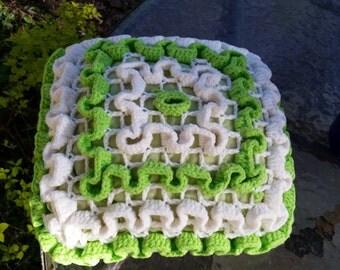 Hand Crocheted Pillow