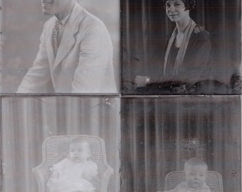 Lot 100 Glass Negative Slides Antique Photo Photography Men Women Children k