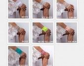 Lace Cuff Bracelet,, Tattoo Cover Up, Stretch Bracelets, Boho Accessories, Bohemian Wristband,