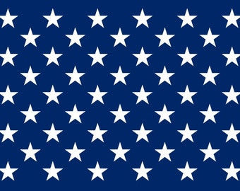 American Flag Stars - Adhesive Vinyl Decal or Stencil - Free Shipping!