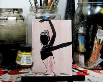 Ballerina OOAK ACEO