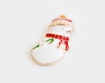 Cute Santa pendant. Jewelry,Pendants,charm,gift,cute supply,Simple,supplies,Unique pendant,Wish,special, christmas, xmas, snowman