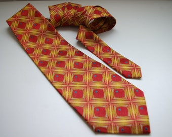 Vintage Retro Blondy Men's Tie