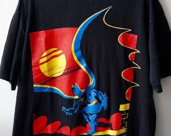 vintage batman tshirt   1988   dc comics