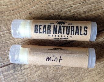 MINT - natural lip balm
