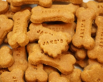 Gingerbread Gourmet Dog Treats, Dog Cookies Grain Free, Dog Gift
