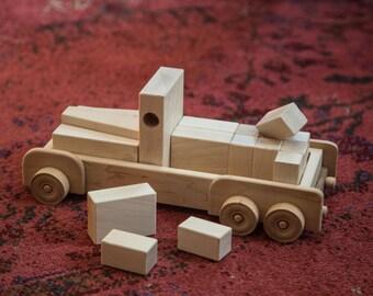 Toy Block Truck
