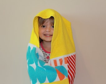 Pre-teen or Young Adult size Hooded Beach Towel