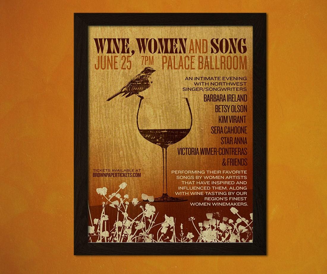 Vin nourriture vintage affiche r tro cuisine decor cuisine for Affiche cuisine retro