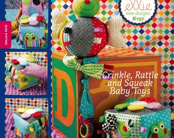 Kwik Sew sewing pattern K0137 (K137) Activity Cube and Bug Toy, Childrens, Kids, Boys', Girls', Baby and Toddler - new and uncut