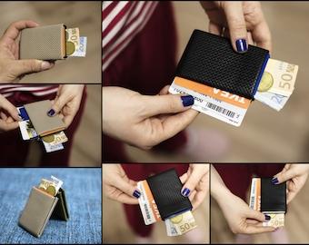 Personalized Men's Wallet - Custom Engraved, Mens wallet, leather wallet, RFID Wallet