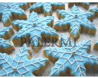 Snowflake Tin Cookie Cutter, Snowflake Cookie Cutter, Frozen Cookie Cutter, Snowflake Biscuit Cutter
