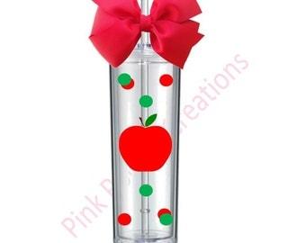 Skinny Teacher Tumbler, Skinny Tumbler, Teacher Gift