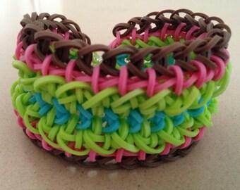 Clover Cross Bracelet