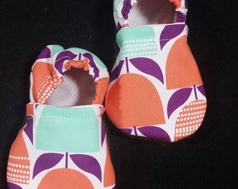 Tulips  Baby Toddler Soft Sole Moccasins Babywearing Booties, Tula Shoes, Babywearing shoes, Tulips Tula Accesories