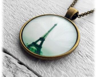 Eiffel Tower Paris - Pendant and Necklace