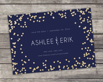 Save The Date - Printable - Digital